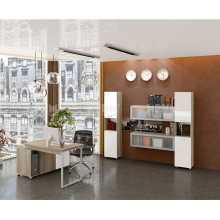 Business Office 2 - Complete office furniture in melamine faced wood, home, studio, school, hotel