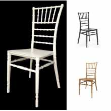 TIFFANY CHIAVARI-Stackable chair in polypropylene for home bar catering wedding wedding events hotel fair-CATAS