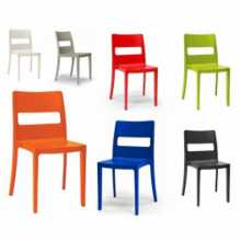 SAI - Outdoor stackable ergonomic chair. Suitable for bar, restaurant, pool, hotel
