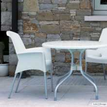 SUPER JENNY - Outdoor polypropylene stackable chair. Suitable for bar, restaurant, pool, hotel, grand soleil, SCAB DESIGN