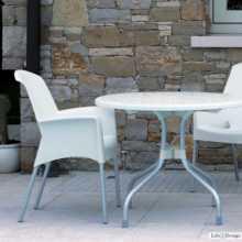 SUPER JENNY - Outdoor polypropylene stackable chair. Suitable for bar, restaurant, pool, hotel, grand soleil, SCAB DESIGN