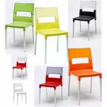 DIVA - Outdoor polypropylene stackable chair. Suitable for bar, restaurant, pool, hotel, grand soleil, SCAB DESIGN