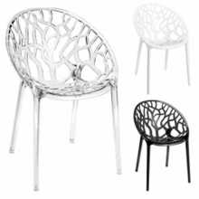 FOREST CC - Stackable outdoor/indoor polypropylene chair. Suitable for bar, restaurant, pool, hotel