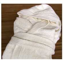 Wellness - 100% cotton hooded bathrobe. Suitable for hotel, b&b, Spa