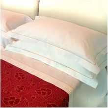 DOLCE VITA - 100% cotton sheet (single/double bed). Suitable for hotel, b&b, inn