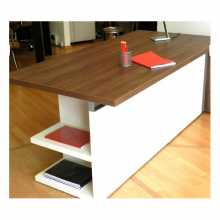 ELEGANCE - Contract melamine laminate office desk. Suitable for office,  hotel.